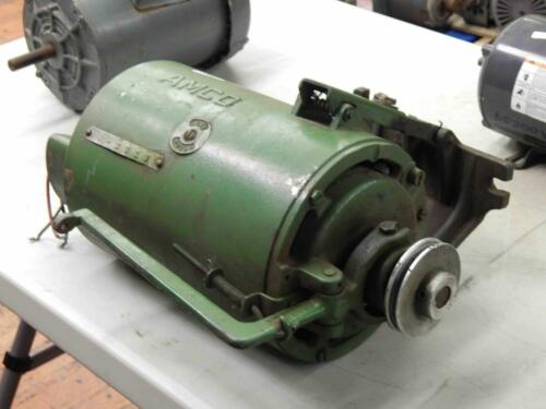 #39 Teledyne AMCO Industrial Sewing Machine Clutch Motor 12HP Type 21714 115V