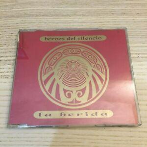 Heroes-del-Silencio-La-Herida-CD-Maxi-Single-4-Tracce-1993-Emi-RARO