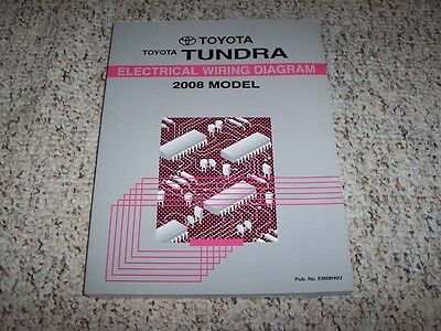 2008 Toyota Tundra Truck Electrical Wiring Diagram Manual ...