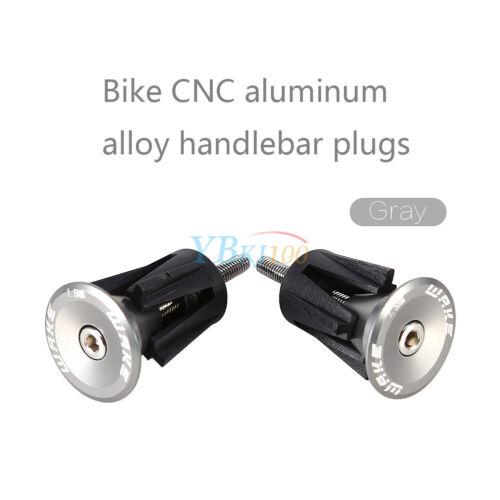 2x Bike Handles Handlebar Plug Stopper Stoppers Bar End Plug Handlebar End Caps ♥