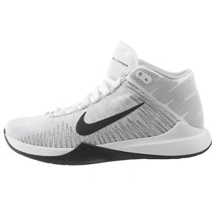 Image is loading Nike-Zoom-Ascention-Mens-832234-100-White-Black-