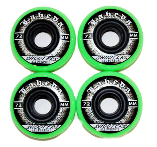 4er 8er Set Labeda Shooters Hockey Rollen 72mm//78A Inliner Skates Allround 18-N2