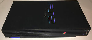 Sony-PlayStation-2-PS2-Fat-Black-Console-Parts-or-repair-Scph-39001-2A