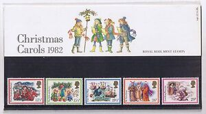 GB-Presentation-Pack-140-1982-Christmas-Carols