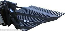 """84"""" Rock Bucket HD Bradco For Large Skid Steers,Fits Bobcat,Cat,Case,In Stock"""