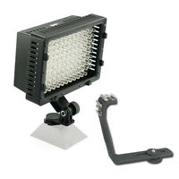 Pro 2 Hd Led Video Light For Jvc Gy-hm790 Gy-hm790u Gy-hm150u Gy-hmz1u Camcorder