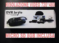 Glasses Video Light Sunglasses 720x480 With Video Camera Camera + Micro Sd 8gb