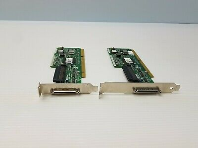 TESTED Adaptec ASC-29160LP 64 bit Ultra 160 U160 LVD//SE SCSI Controller Card