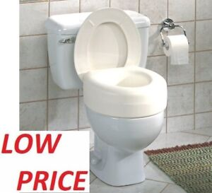 Excellent Details About Raised Toilet Seat Elevated Elongated Portable White Safety Padded Medical Riser Spiritservingveterans Wood Chair Design Ideas Spiritservingveteransorg