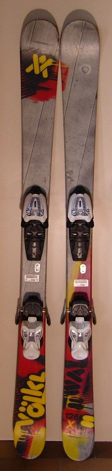 Ski d'occasion parabolique VOLKL Wall Junior - 128cm