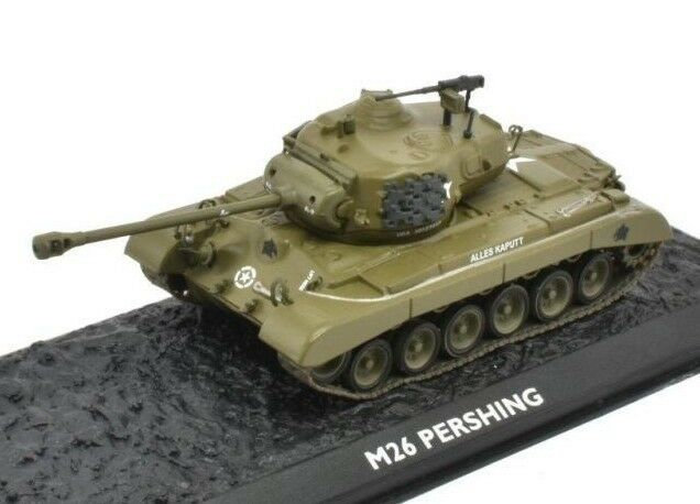 Ultimate Tank Collection M26 Pershing Alles Kaputt 1//72 Atlas