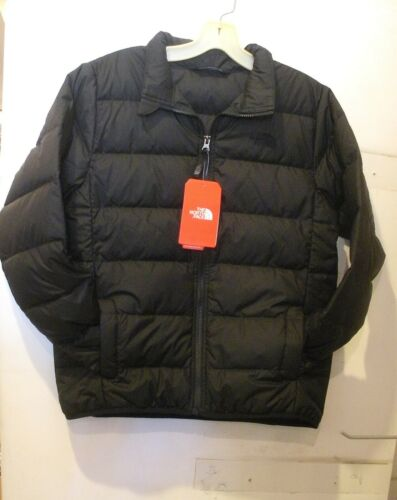 L XL- NEW M THE NORTH FACE BOYS ANDES DOWN WINTER JACKET-OCHQ6- TNF BLACK- S