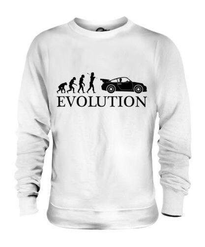 SPORTS CAR EVOLUTION OF MAN UNISEX SWEATER  Herren Damenschuhe LADIES GIFT