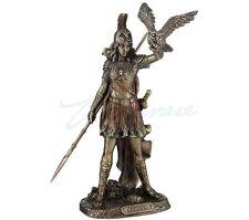 Greek Goddess Athena Statue Cast Off The Owl Sculpture Figurine Mythology
