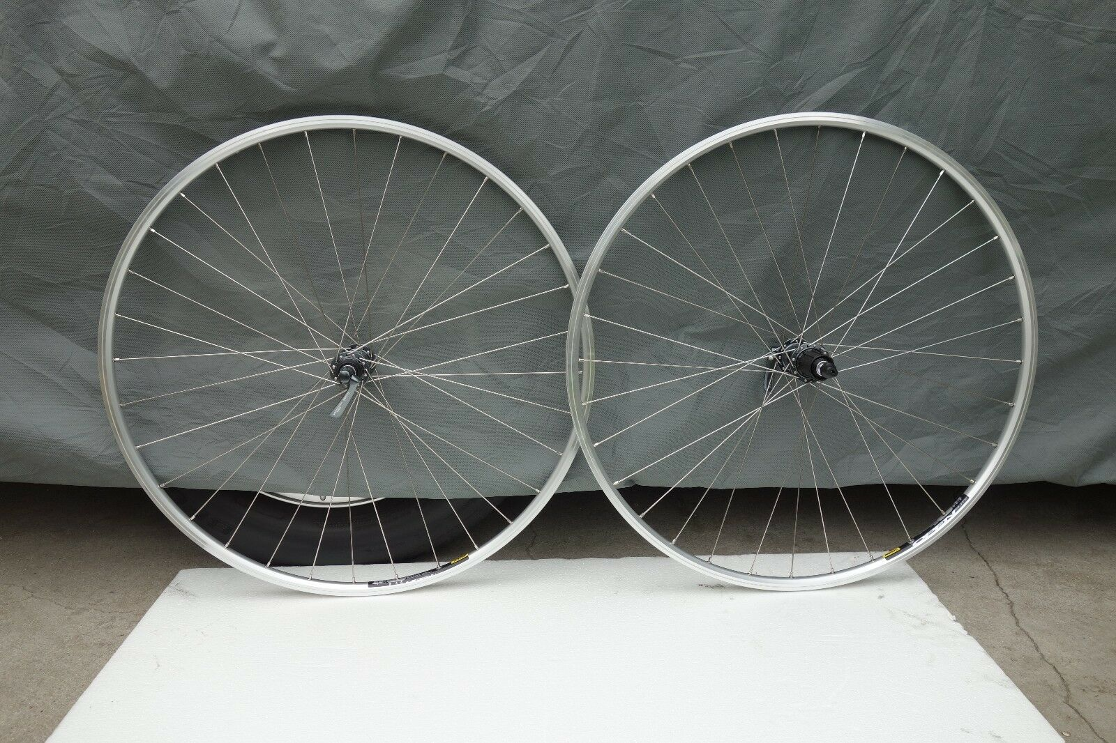 Mavic  Open Elite Rims Built Bike Wheelset- Campagnolo Shimano  creative products