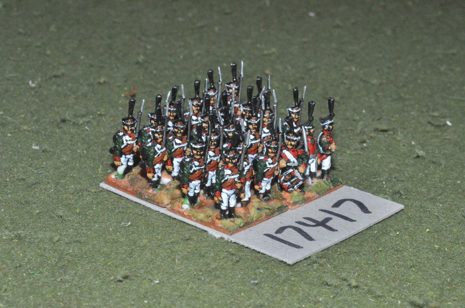 15mm napoleonic   russian - grenadiers 24 figs - inf (17417)