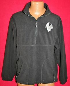 JOURNEY-Embroidered-Band-Logo-Pullover-FLEECE-Windbreaker-JACKET-S-Classic-Rock