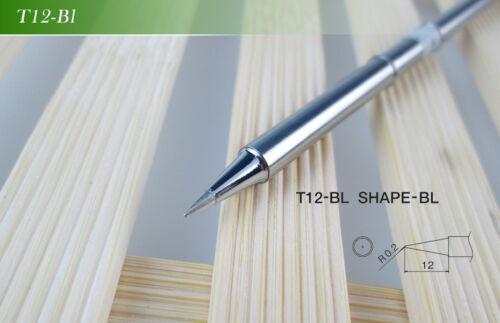 10Pcs//SET B2 D24 C4 ILS JL02 KU K BC2 BL BC1 Solder Iron Tips T12 Series
