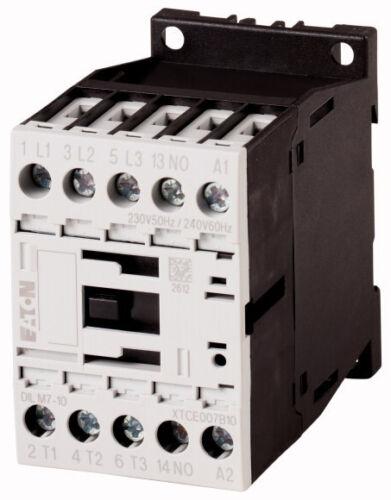3h+1ö protegge il 290093 Motorschütz Eaton Moeller DILM 15-01 7,5kw 230 hilfsschütz