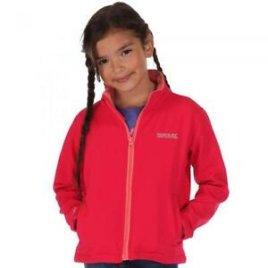 REGATTA KIDS  CANTO  SOFT SHELL CHILDS  FLEECE COAT JACKET BOY GIRL  3-12 YRS