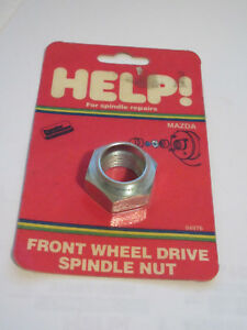 Help-04976-Spindle-Nut-For-81-89-Mazda-M20-1-5-29mm-hex-615-100-1030518