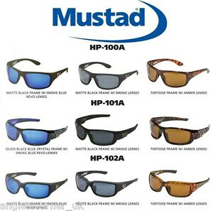 Image is loading Mustad-Hank-Parker-Signature-Series -Polarized-Sunglasses-All- 47fe450f33