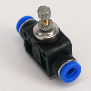 Fit-Tube-O-D-8mm-Push-In-Flow-Speed-Control-Valve-Union-Pneumatic-Fitting