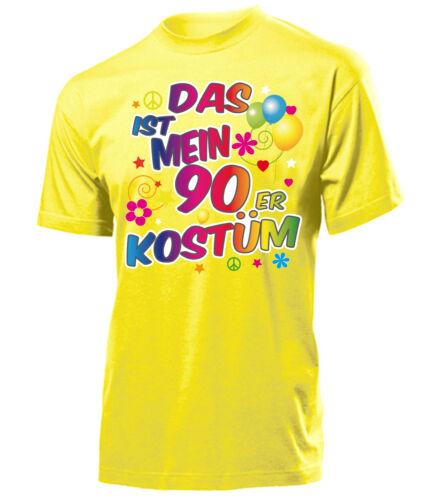 Disfraz de carnaval-esto es mi disfraz de 90er t-shirt señores S-XXL