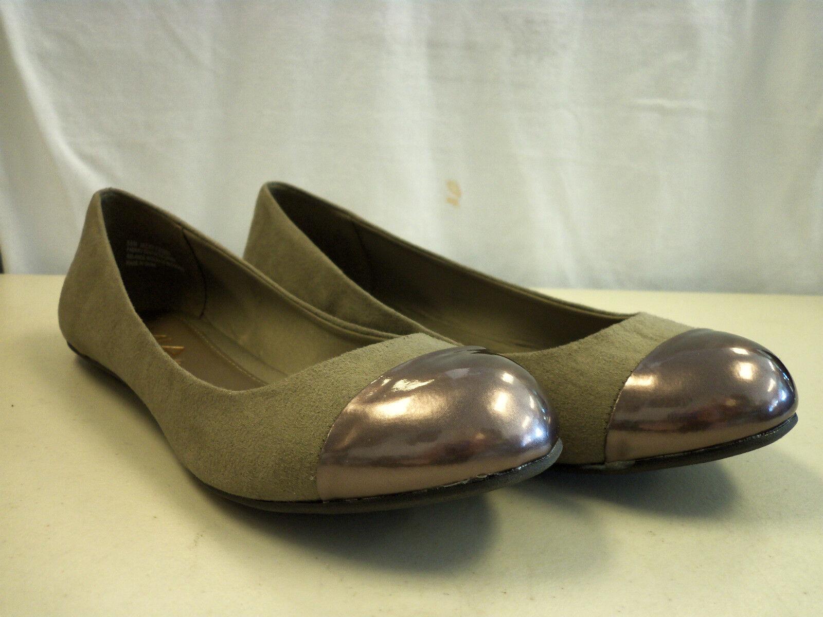 MIA New Damenschuhe Jacky Gray Flats 6.5 M Schuhes NWOB