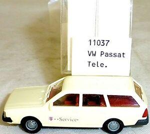 Vw-passat-variant-telekom-Mesureur-EUROMODELL-11037-h0-1-87-OVP-ho-1-a