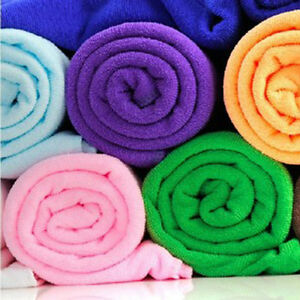 70x140cm-Absorbent-Microfiber-Drying-Bath-Beach-Towel-Washcloth-Swimwear-100g-1X