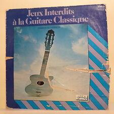 3T Ramon HERRERA Vinyle LP JEUX INTERDIT A LA GUITARE CLASSIQUE - DYNAMIC 26607