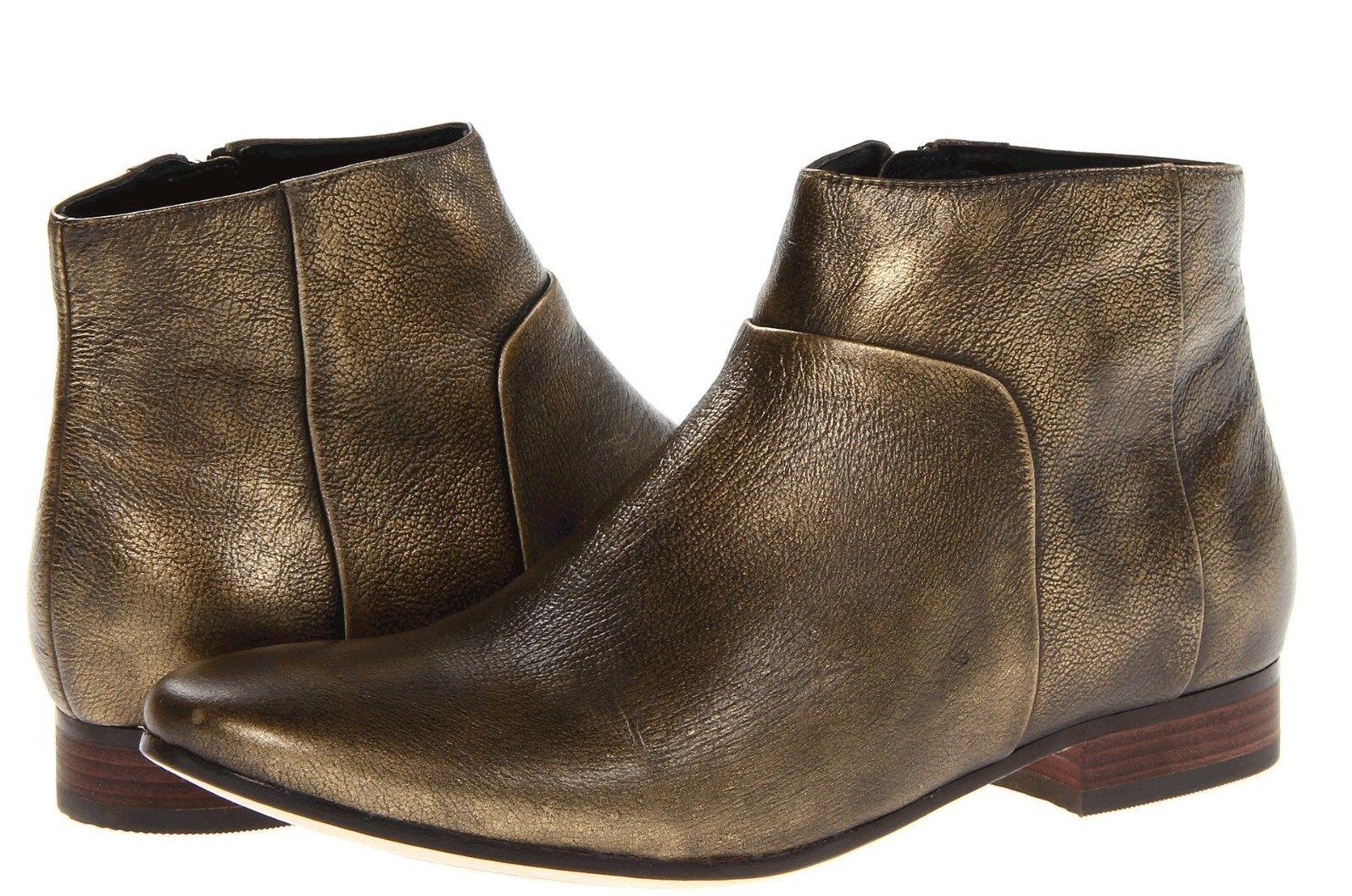 Cole Cole Cole Haan Allen Botín Negro Metálico Cremallera botas al tobillo para mujer 7 Nuevo En Caja b666fd