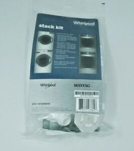NEW-GENUINE-WHIRLPOOL-KENMORE-W10869845-LAUNDRY-STACK-KIT-DUET-MAXIMA-MAYTAG
