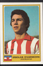 Football Sticker - Panini Euro Football 1976 - No 167 - Srboljub Stamenkovic