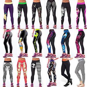 3d506012c Image is loading Women-3D-Printed-Legging-Jeggings-Sports-Yoga-Fitness-