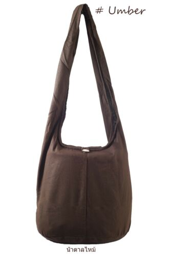 Large SHOULDER BAG THAI HIPPIE BAG HOBO Cotton Fabric