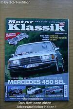 Motor Klassik 9/05 DB 450 SEL Jaguar XK 120 11 CV R 16