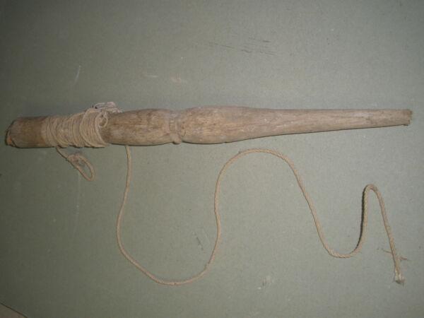 Richtschnur Uralt Spule Aus Holz Maurerwerkzeug Maurer Spindel