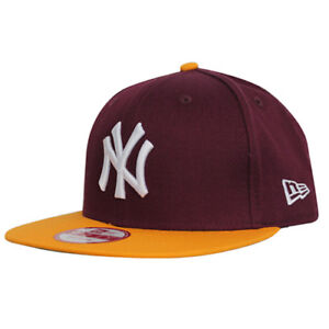 66397843d8c1f New Era 9fifty Mlb League Basic Yankees De Nueva York Gorra Burdeos ...