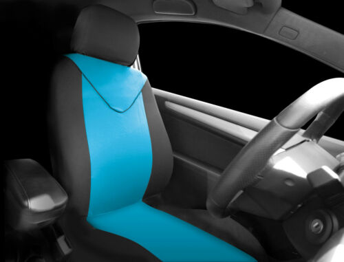 Sumex Unicorn Universal Single Padded Foam Front Car Seat Cover in Blue /& Black
