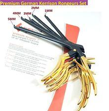 5 Premium German Kerrison Rongeurs 7 12345mm Up 45 Orthopedic Instruments