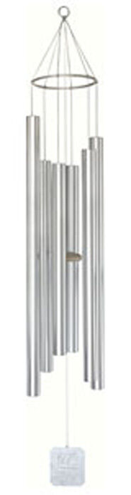 Wind Chime Grace Note Treasure of Heaven 72 inch Super 6 2-XX Aluminum Silver