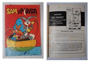 Sam-il-pirata-numero-6-Lire-250-Luglio-1981-Editrice-Cenisio-Bugs-Bunny