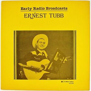 ERNEST-TUBB-Early-Radio-Broadcasts-LP-NM-NM