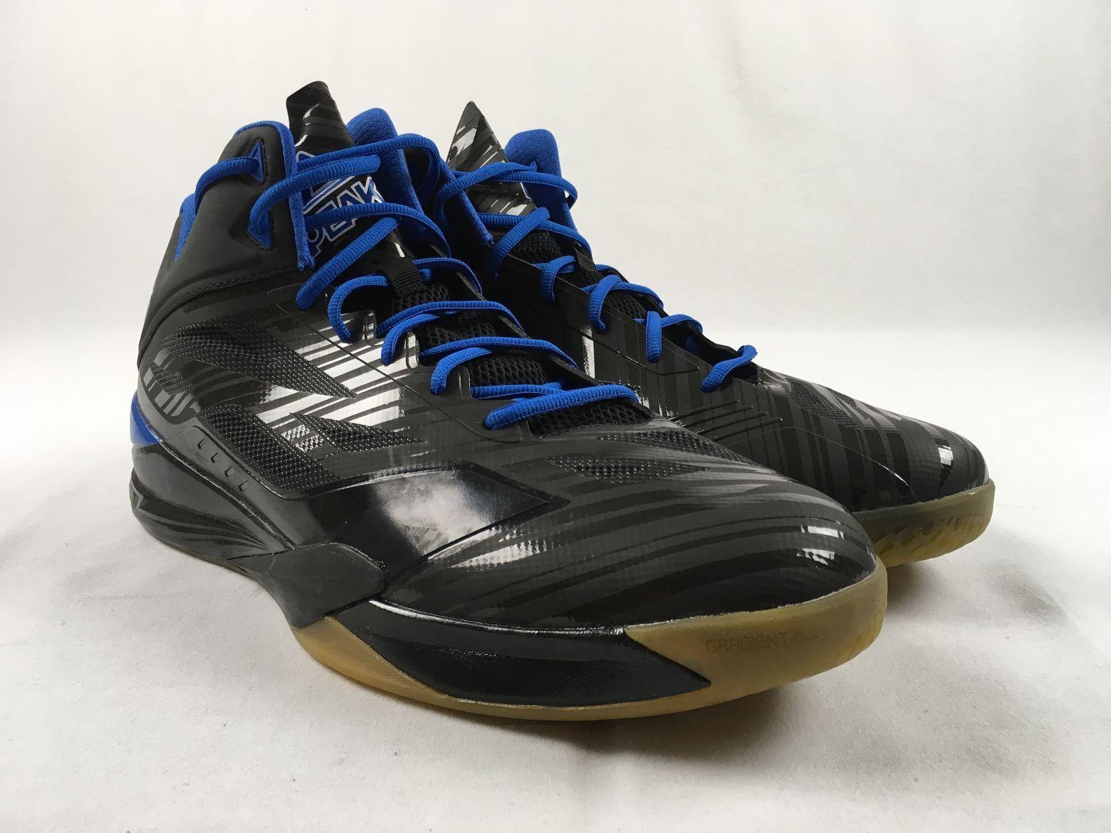 NEW Peak Peak Basketball - Black/Blue Basketball Shoes (Men's 18)