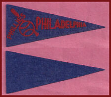 OLD 1950 Philadelphia Phillies Baseball Pennant! WOW