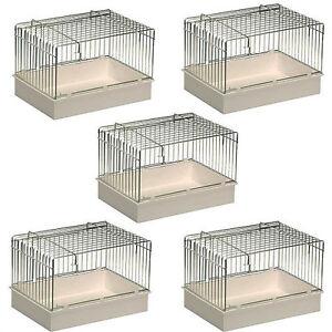 Bain d'oiseau en fil de fer X5 Pet Ting - Finch, Canary, Budgie, crochets pour cages Ect 5060115202879