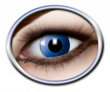 ZOE BLUE ELF lentille de couleur bleu lens contact halloween vampire blau linsen