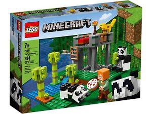 21158-Lego-Minecraft-le-Panda-Nursery-Set-204-pieces-7-Ans
